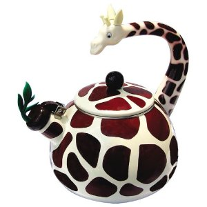 Animal Print Giraffe Tea Kettle